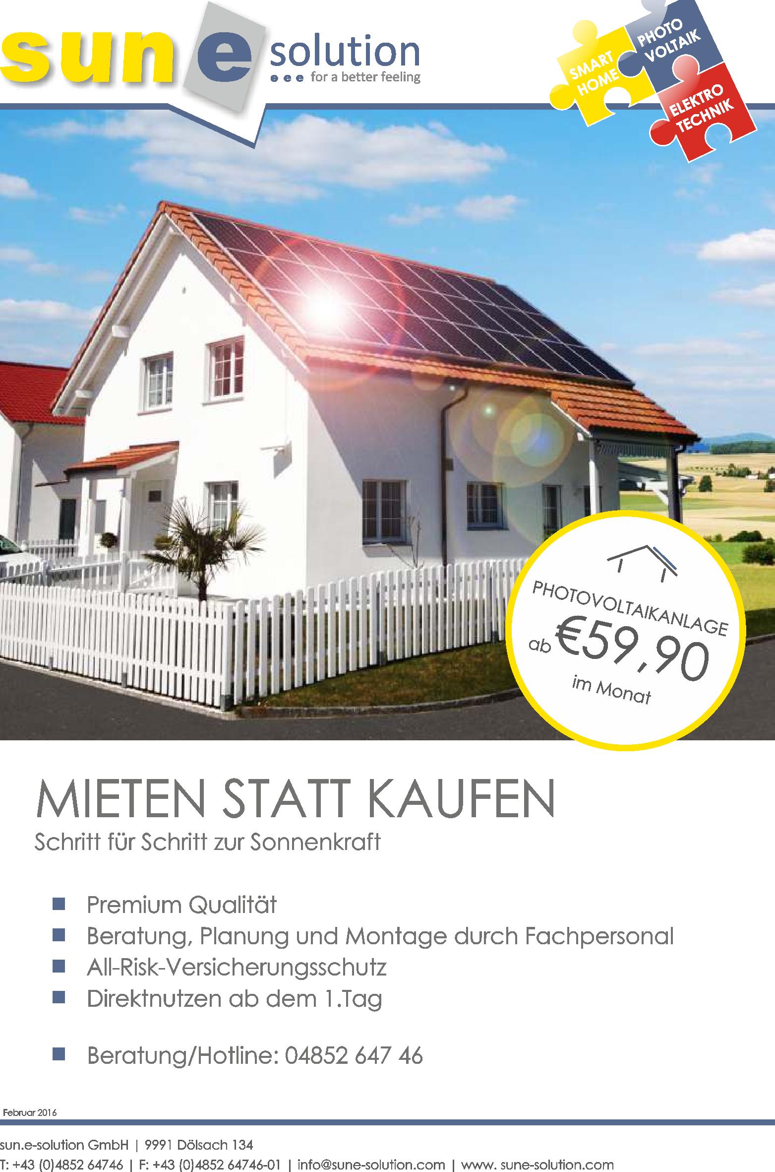 Quelle: sun.e-solution GmbH