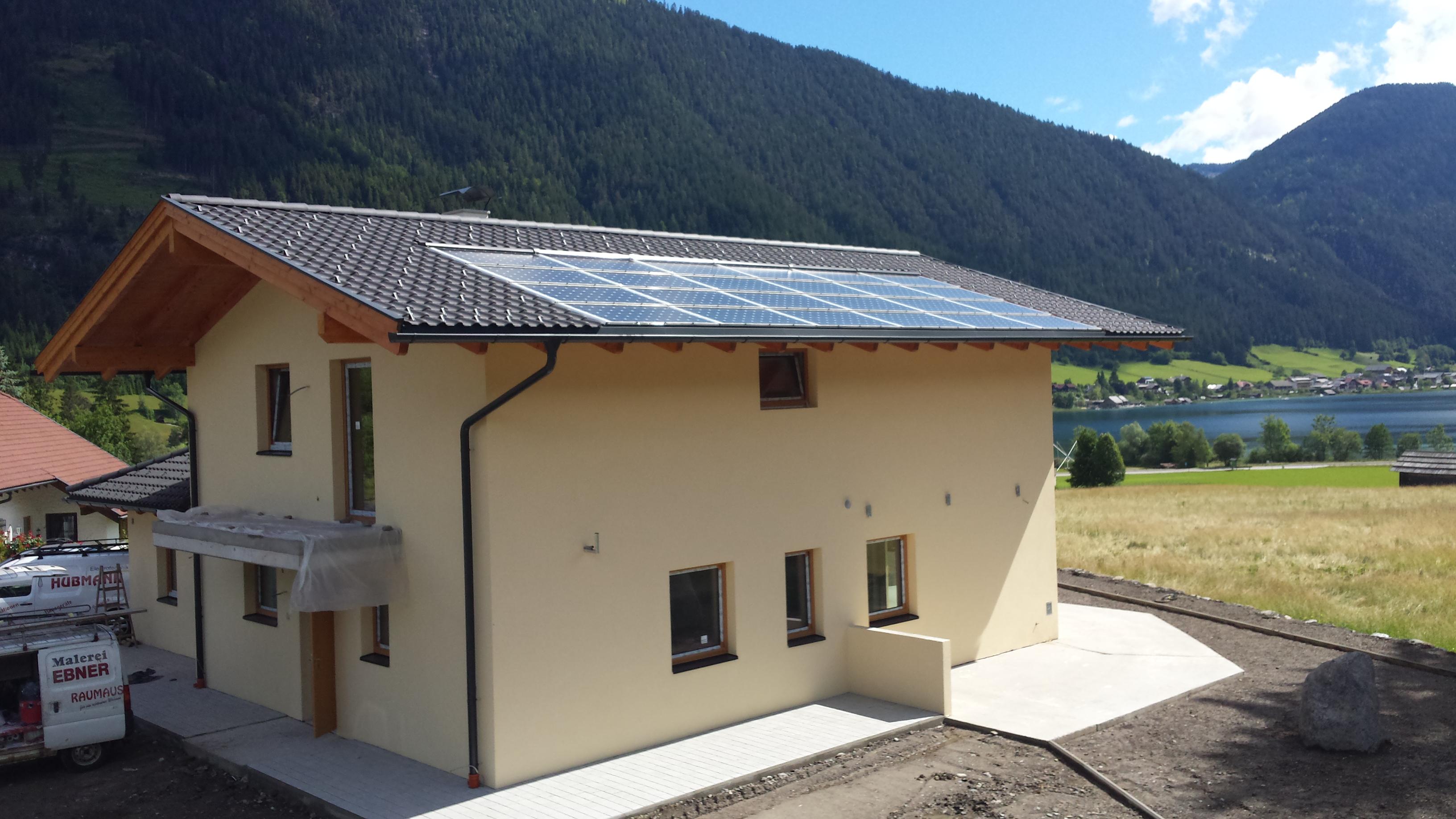 Quelle: sun.e-solution GmbH / Austria/ Kärnten/ Weissensee/ ca. 6kWp